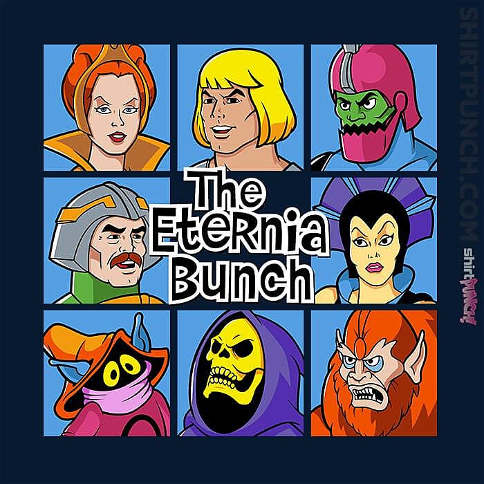 ShirtPunch: The Eternia Bunch