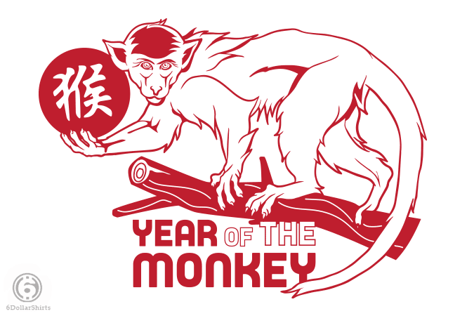 6 Dollar Shirts: Year of the Monkey