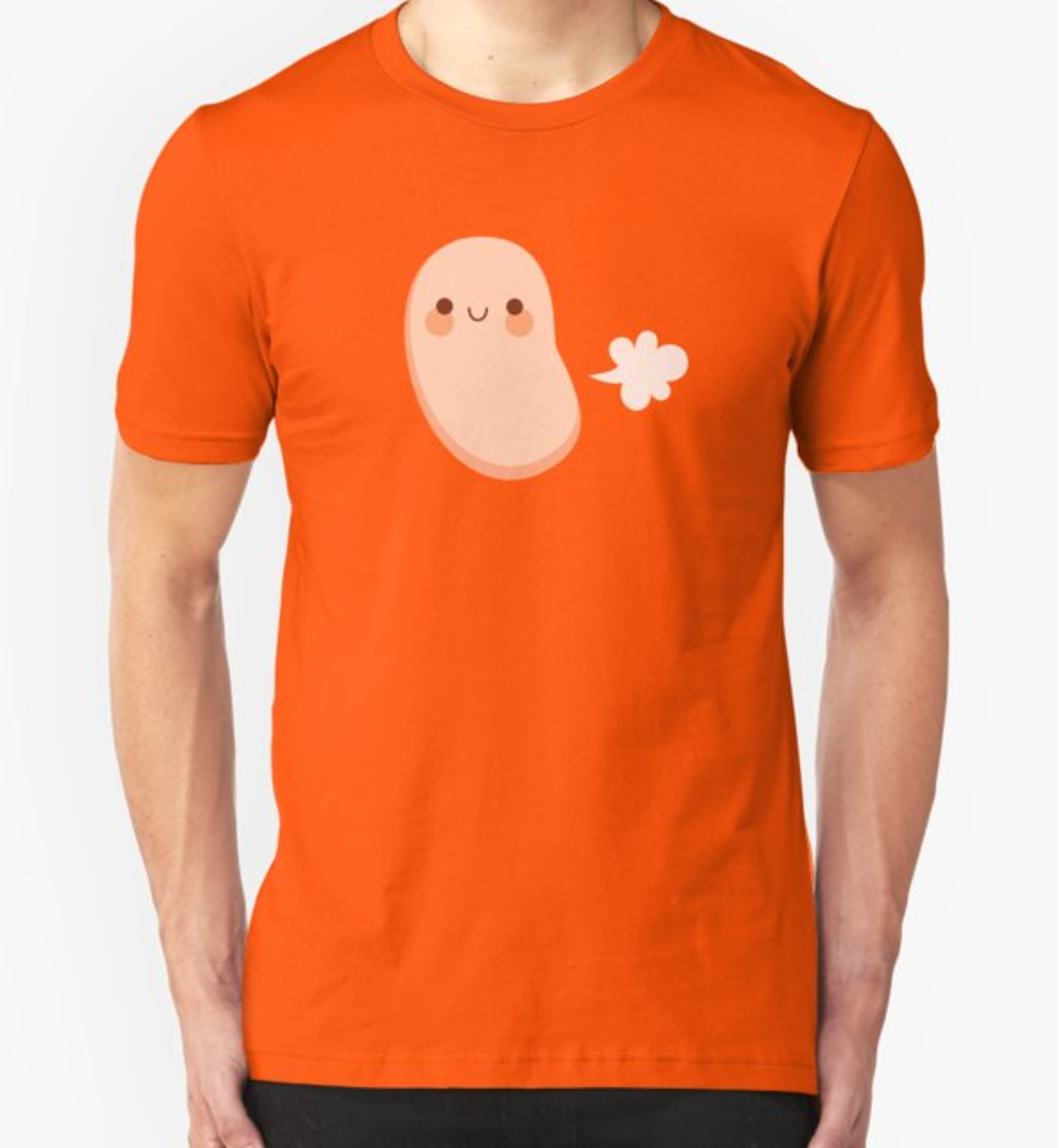 RedBubble: Baked beans farting