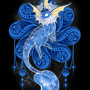 Qwertee: Starry Sky of Water