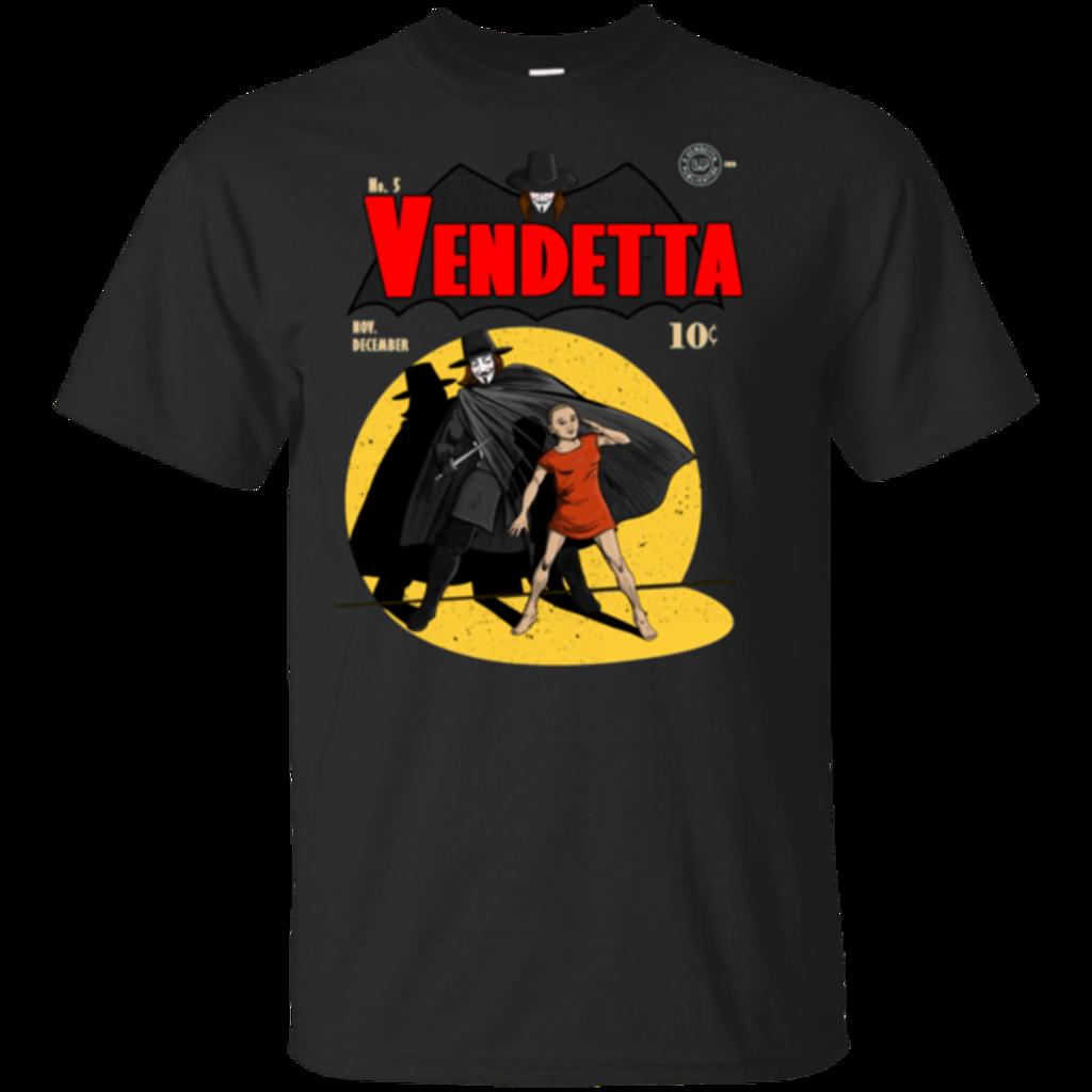 Pop-Up Tee: Vendetta