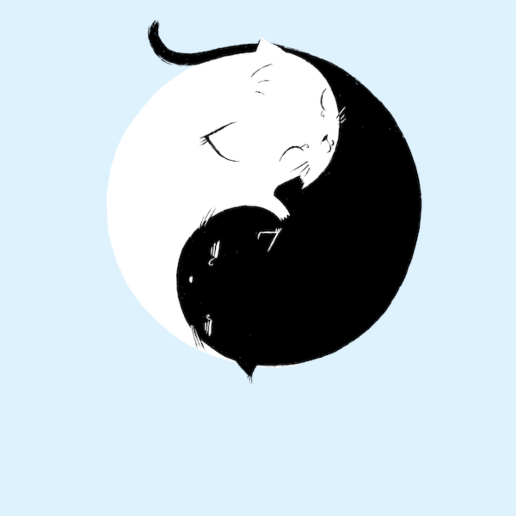 NeatoShop: Yin Yang Kittens