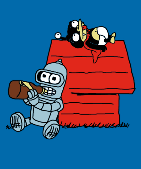 Qwertee: Future Nuts