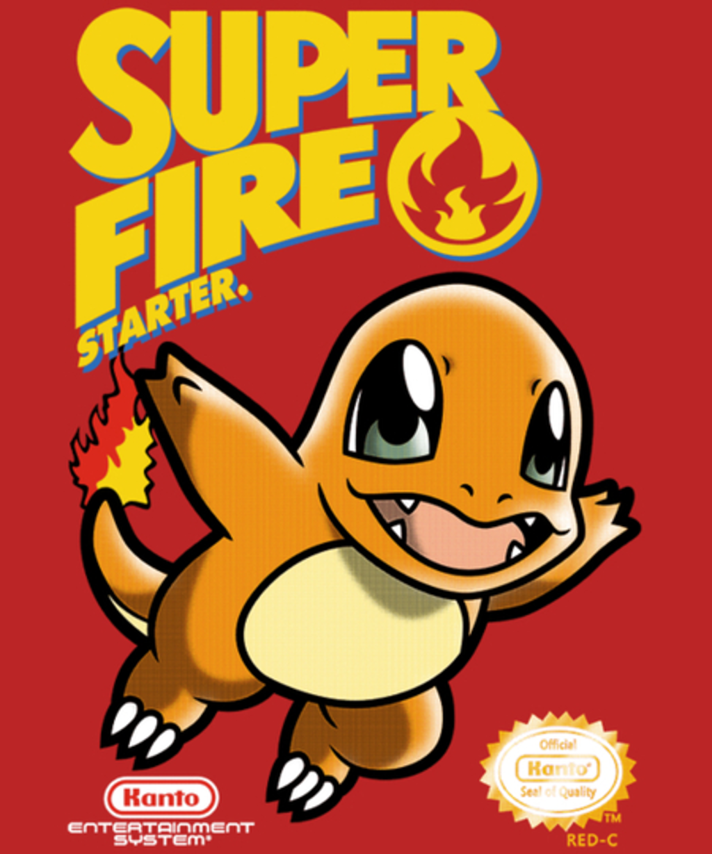 Qwertee: Super Fire Starter