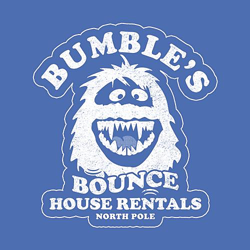 Five Finger Tees: Bumble's Bounce House Rentals T-Shirt