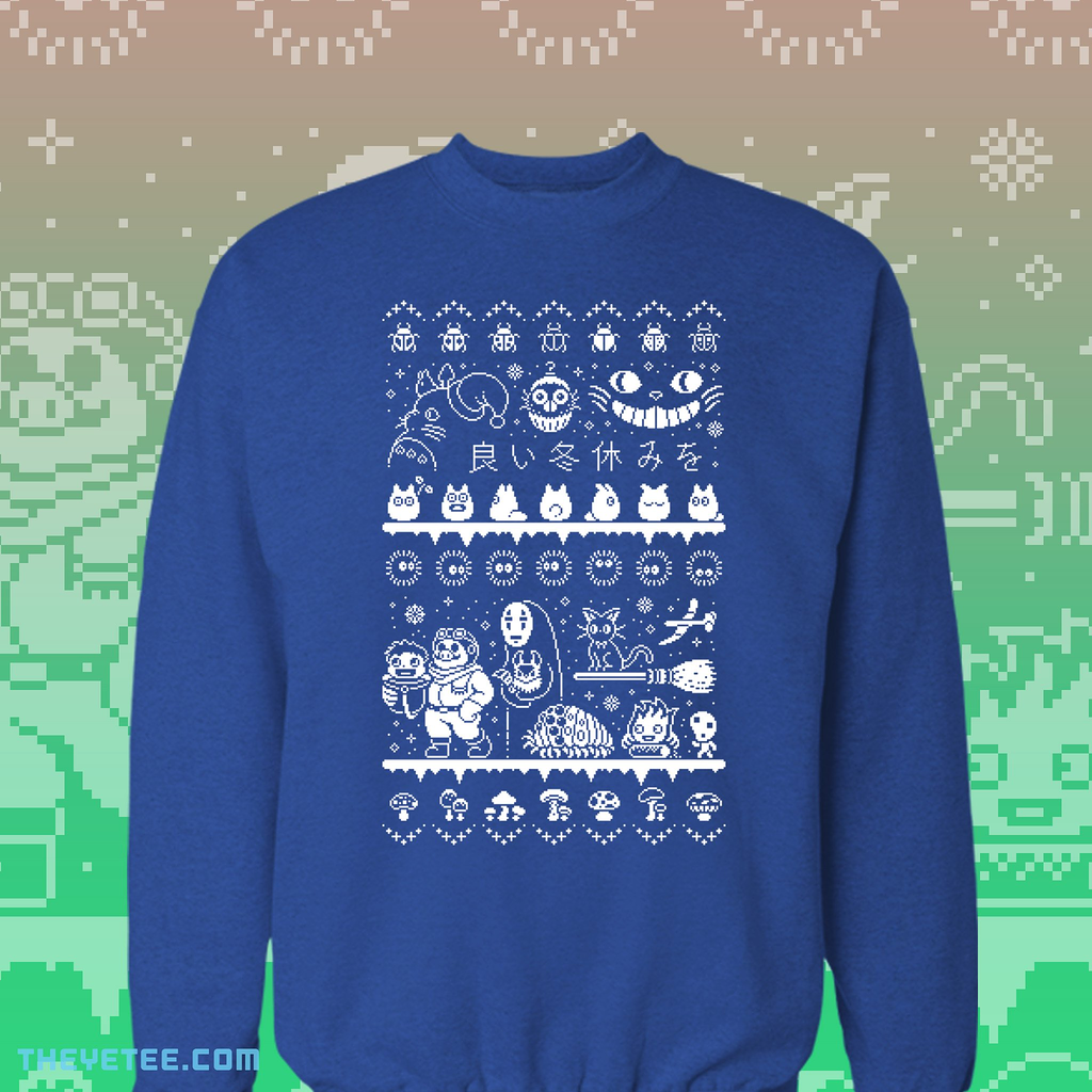 The Yetee: SPIRITED HOLIDAY