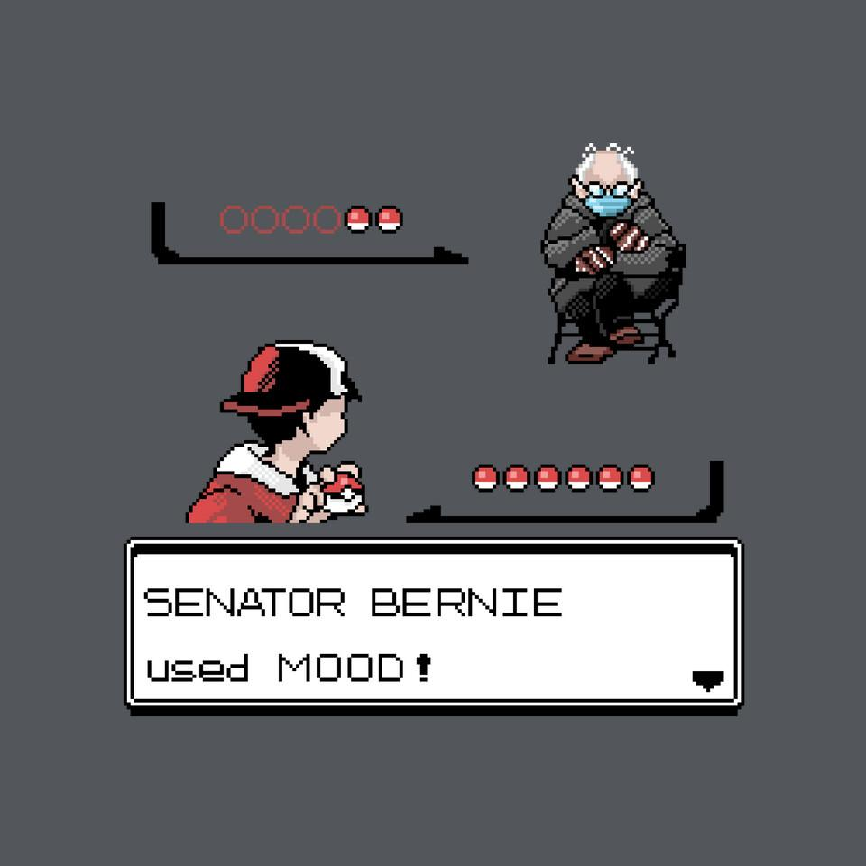 TeeFury: Bernie Used Mood