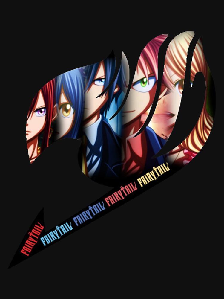 RedBubble: Fairy Tail Group - Logo Anime