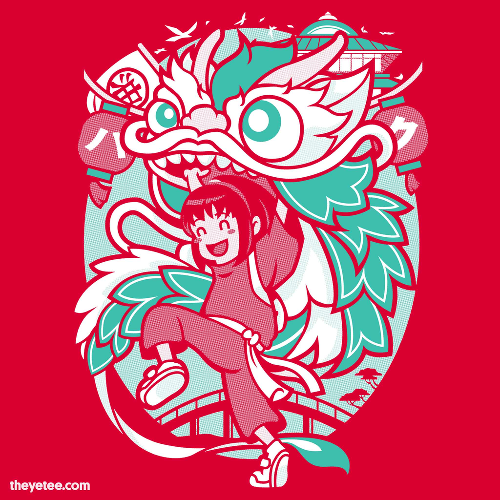 The Yetee: Dragon Festival