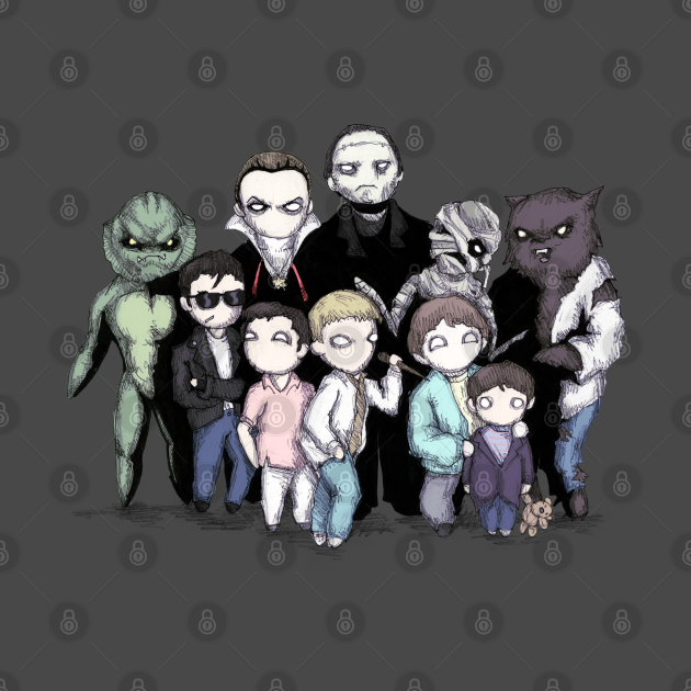 TeePublic: Monster Squad