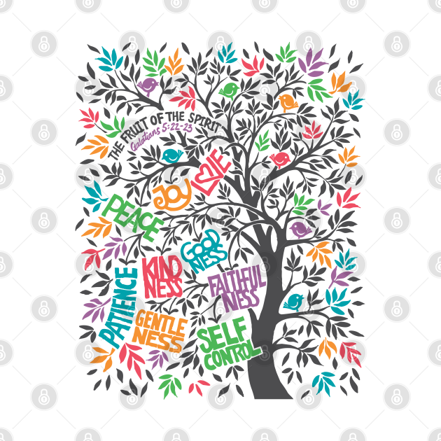 TeePublic: The Fruit of the Spirit - LOVE JOY PEACE