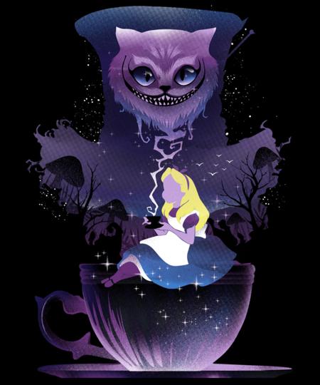 Qwertee: Midnight Tea Party