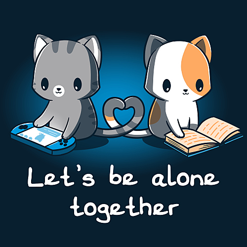 TeeTurtle: Let's Be Alone Together