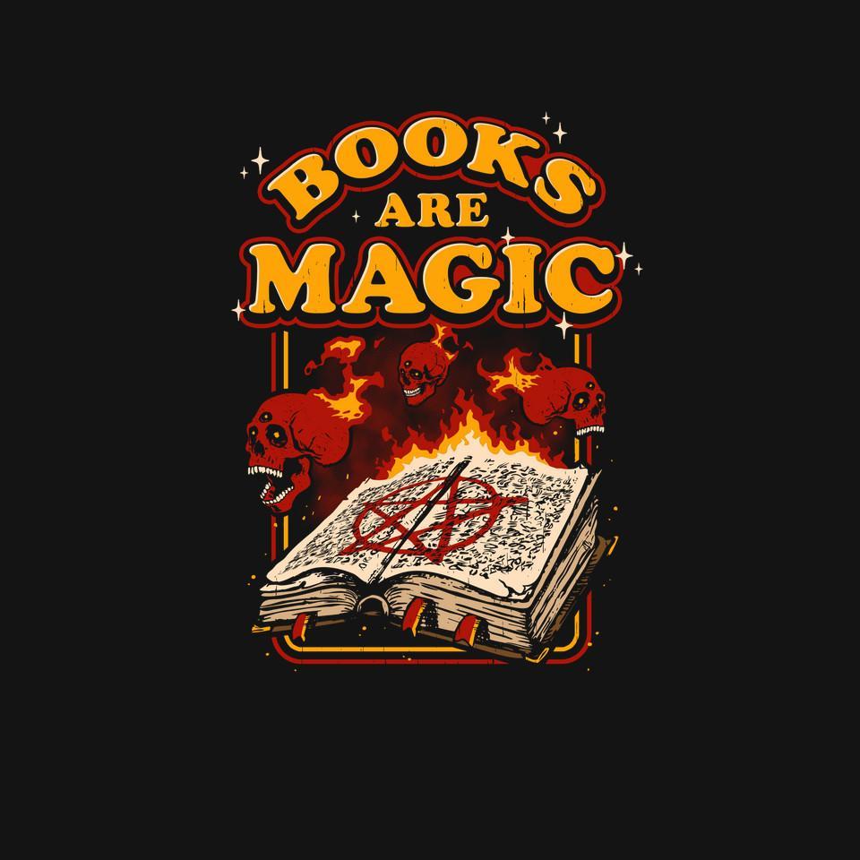 TeeFury: Books are Magic