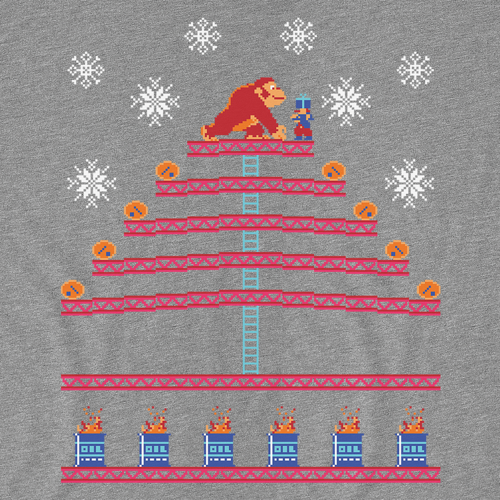 Pop-Up Tee: Kongmas Tree