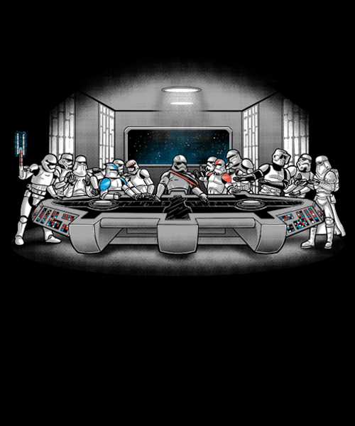 Qwertee: First order's last supper