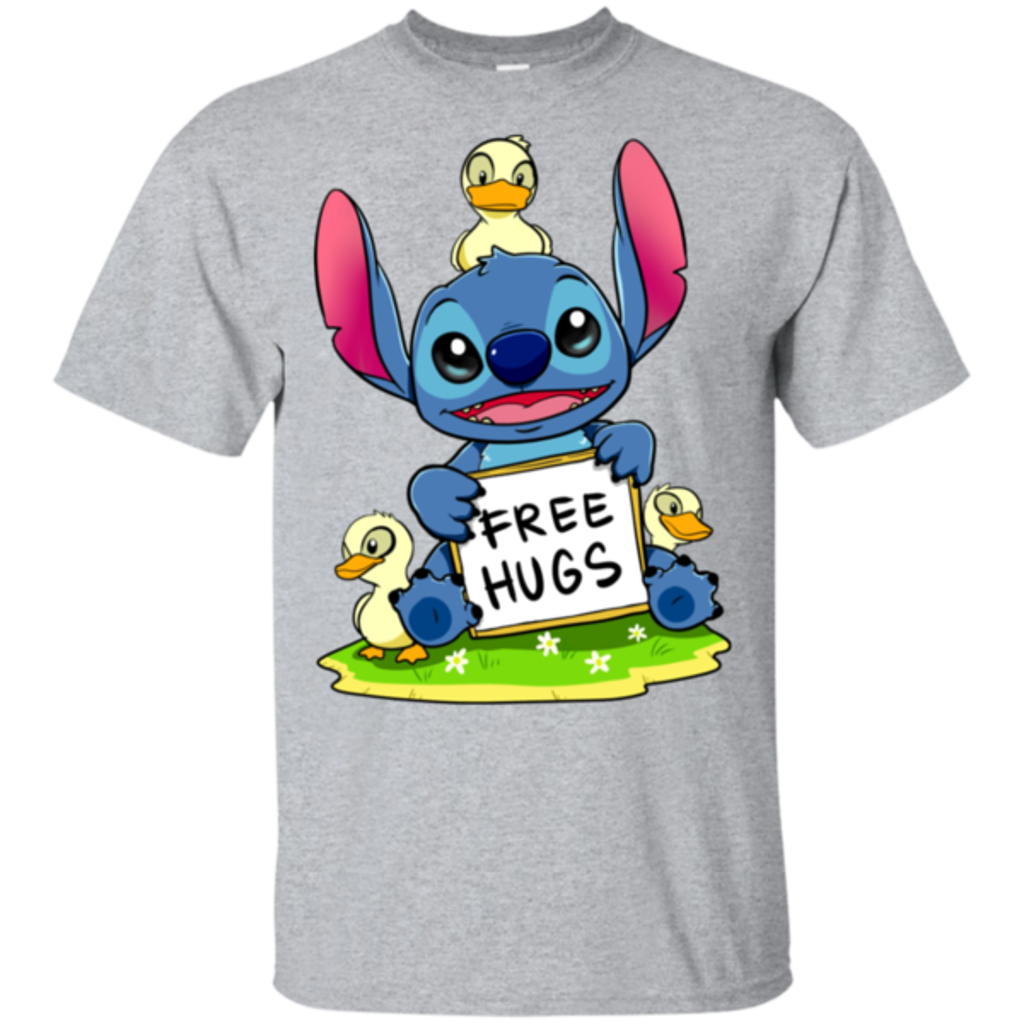 Pop-Up Tee: Stitch Hug