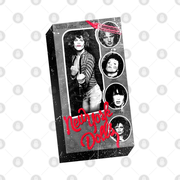 "TeePublic: New York Dolls ""David Johansen"" Doll in a Box !!!"