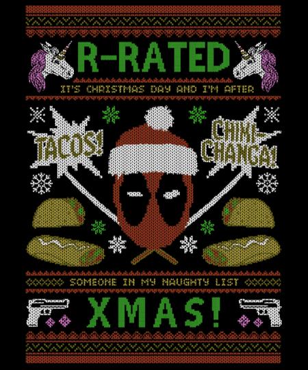 Qwertee: R-Rated Christmas