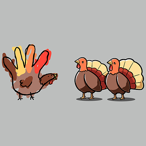 TeeTurtle: Hello, Fellow Turkeys