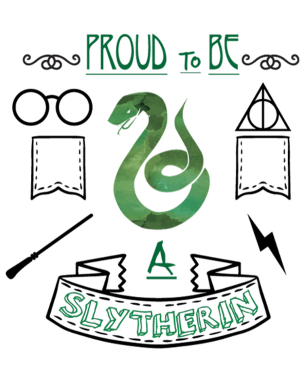 Qwertee: Proud to be a Slytherin