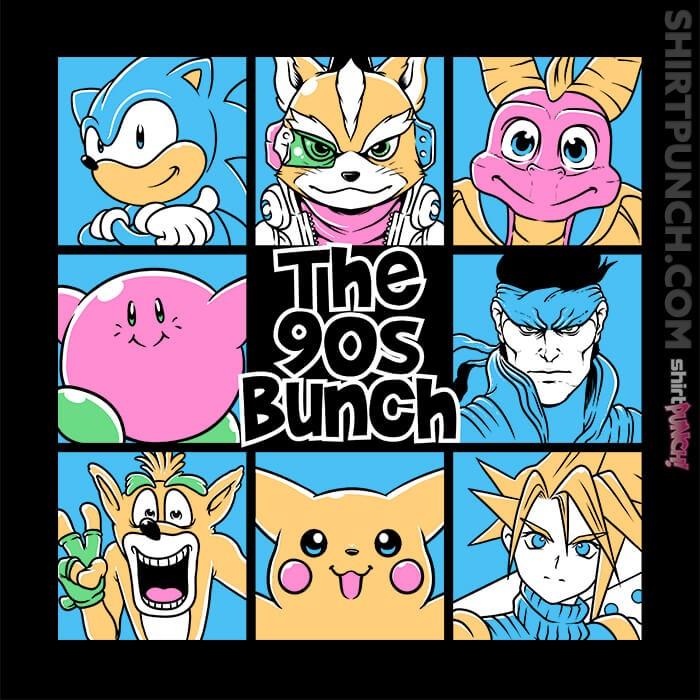 ShirtPunch: The 90s Bunch