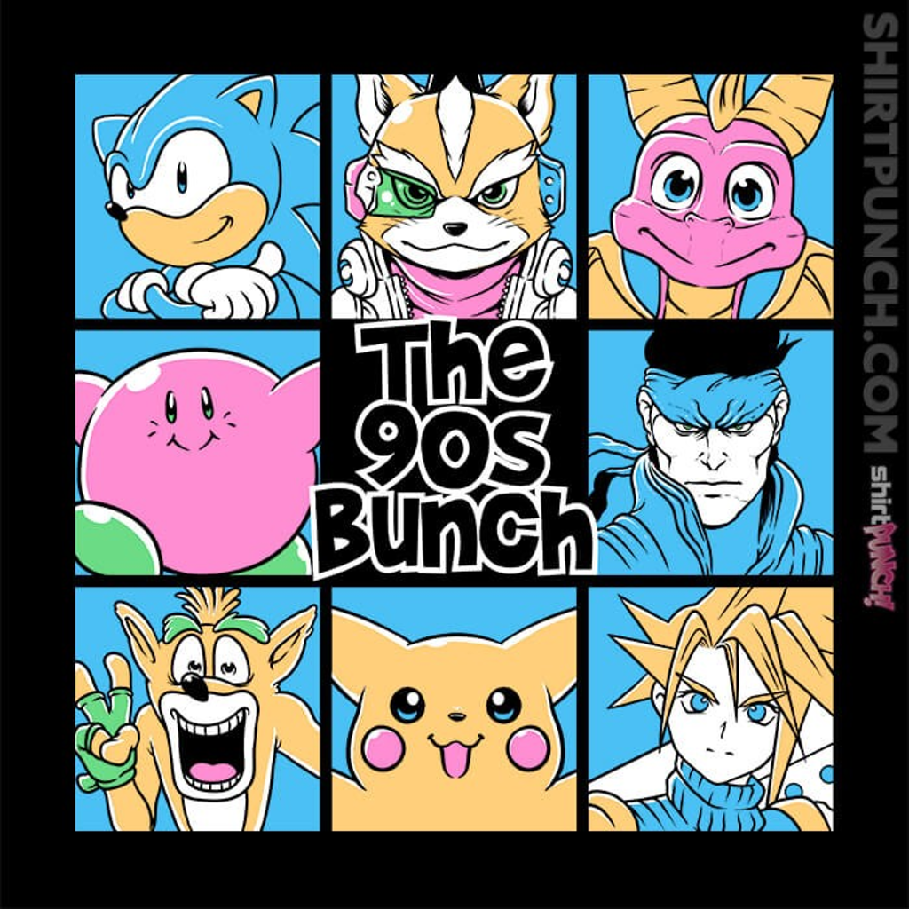 ShirtPunch: The 90s Bunch