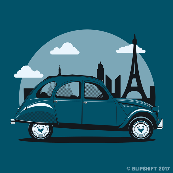 blipshift: Greetings From France