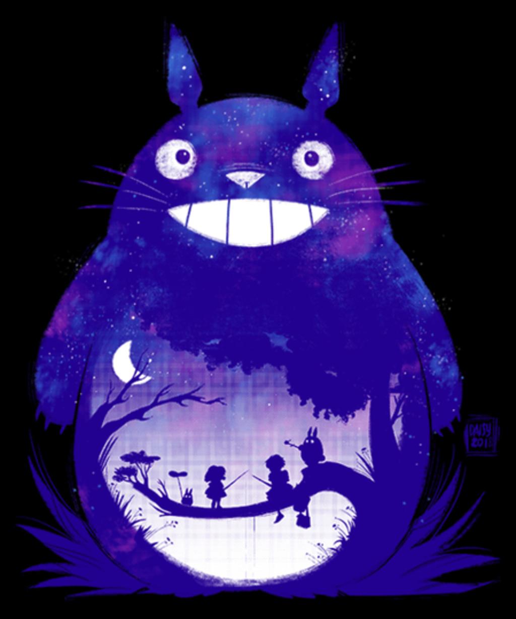 Qwertee: Starry Totoro