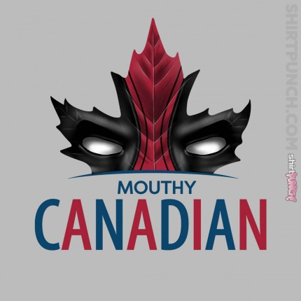 ShirtPunch: Mouthy Canadian