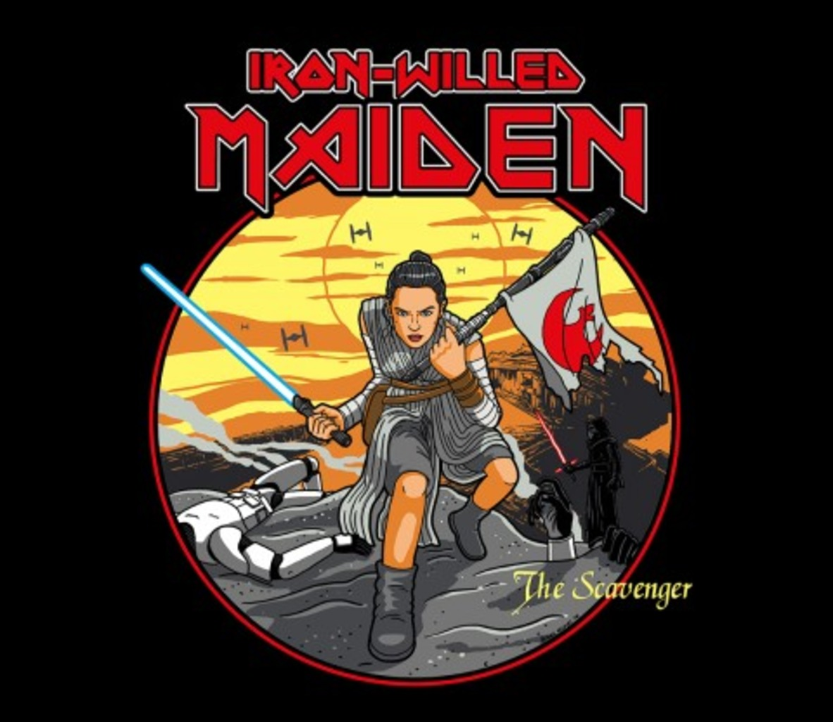 TeeFury: Iron-willed Maiden