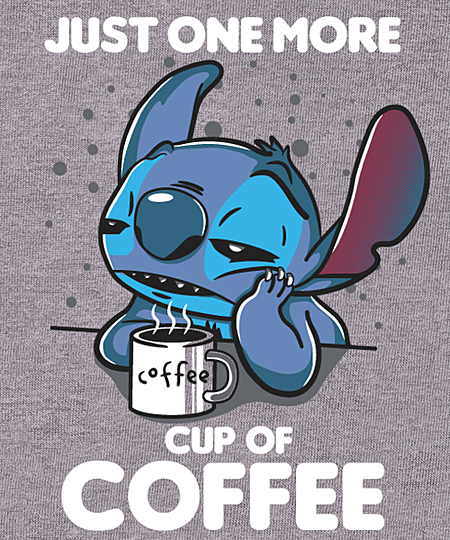Qwertee: one more coffee