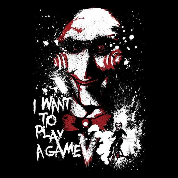 Once Upon a Tee: Want to Play a Game