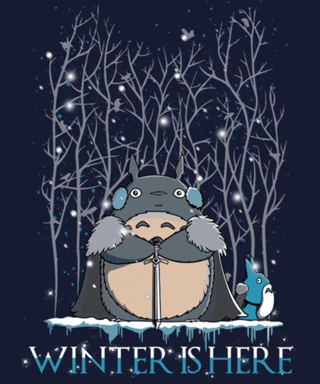 Qwertee: Winter is here
