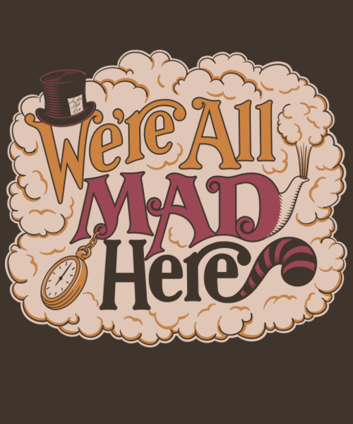 Qwertee: A Mad Tea Party