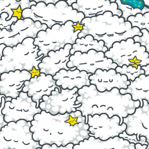 Threadless: A Cloudy Night
