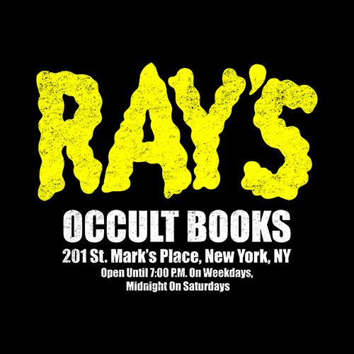 Ray's Occult Books T-Shirt from Five Finger Tees | Day of