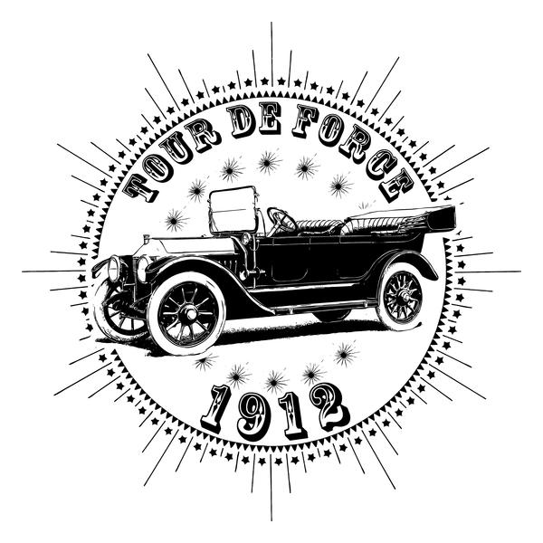 NeatoShop: Vintage Classic Car 1912 Tour De Force Chevy