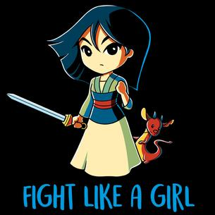 TeeTurtle: Fight Like a Girl...