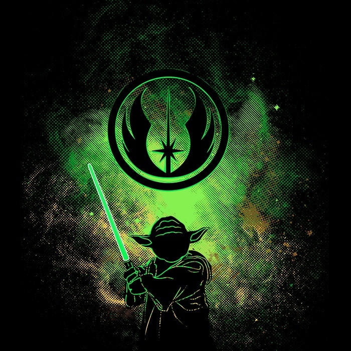 We Heart Geeks: Jedi Art - Men's T-Shirt