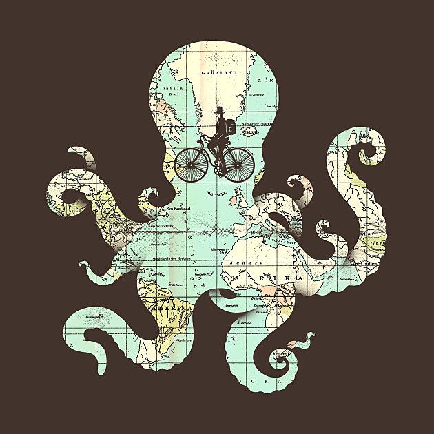 TeePublic: All Around the World
