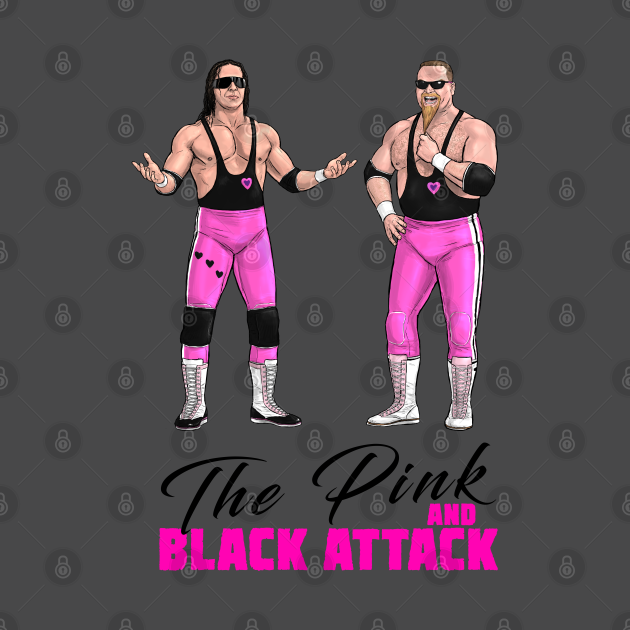 TeePublic: The Pink and Black Attack 1989
