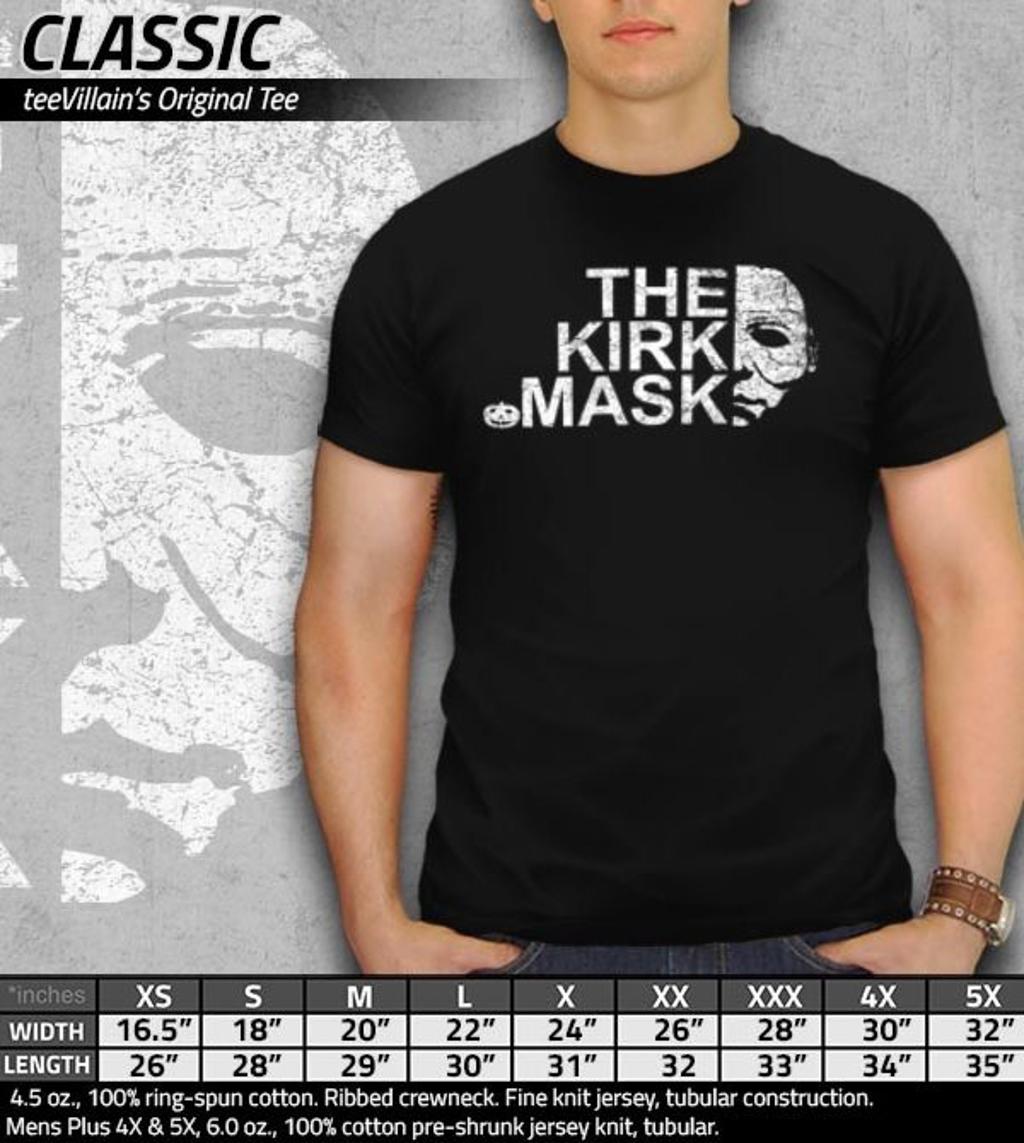 teeVillain: The Kirk Mask
