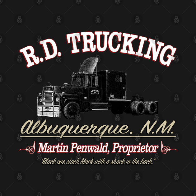 TeePublic: R.D. Trucking Custom