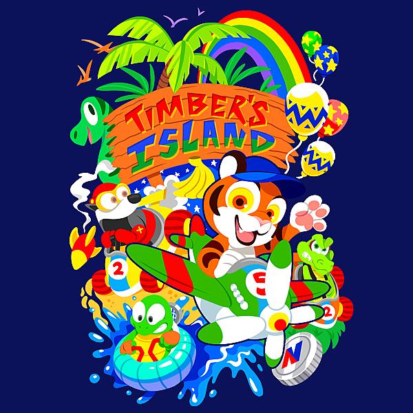 NeatoShop: Timber's Island