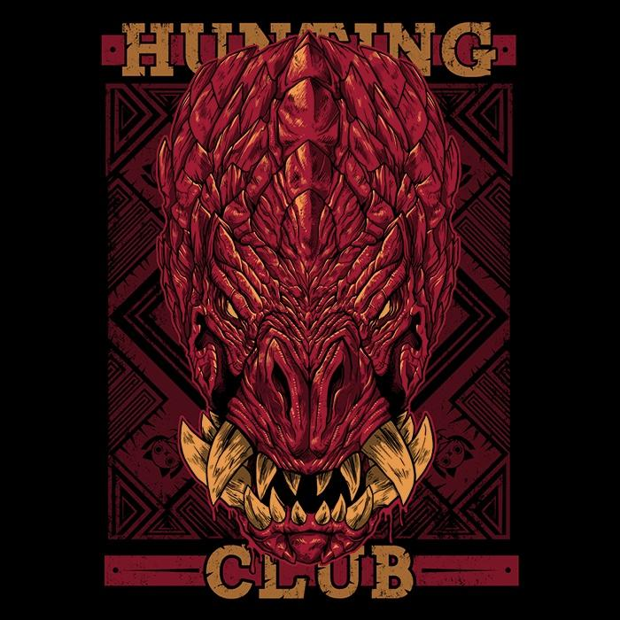 Once Upon a Tee: Hunting Club: Odogaron