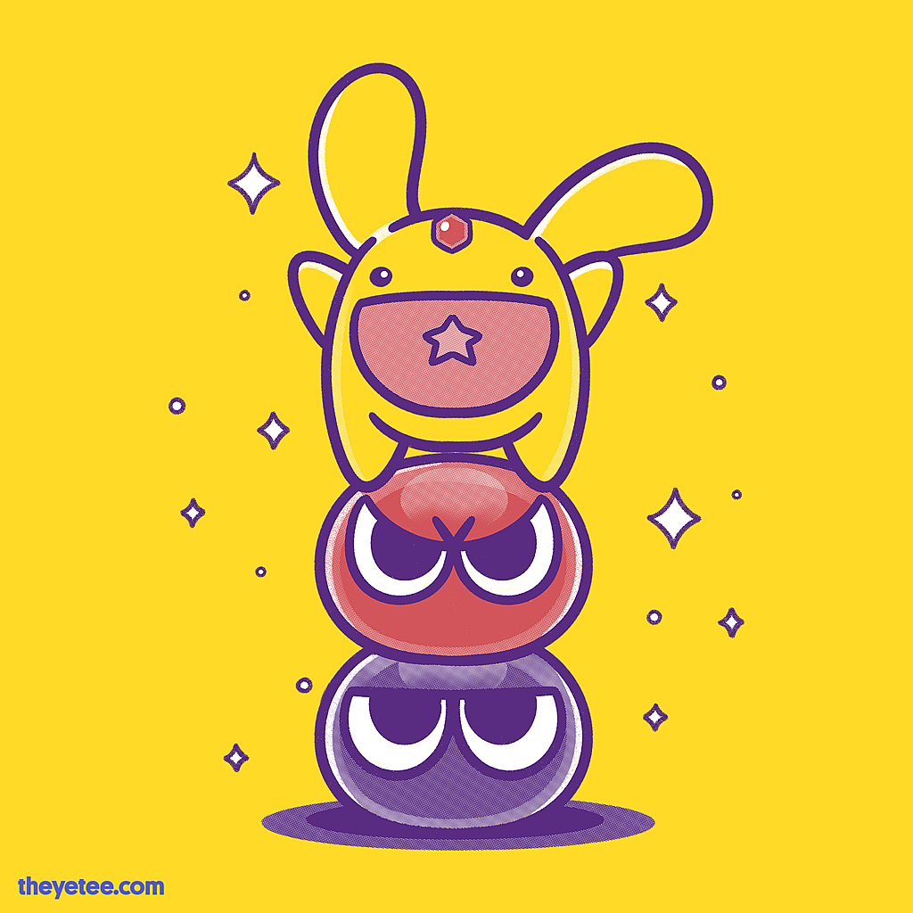 The Yetee: Puyo Pals