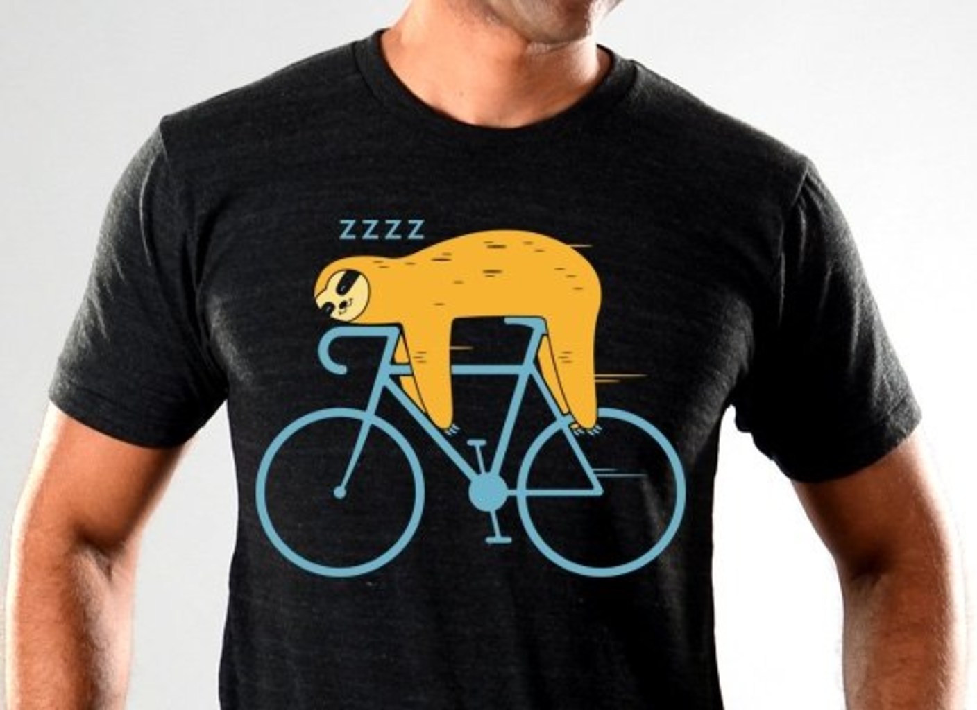 SnorgTees: Slow Rider Limited Edition Tri-Blend