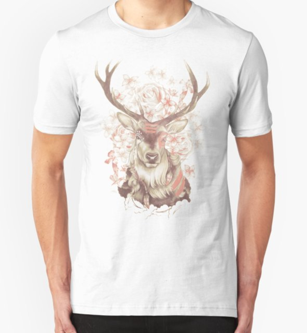 RedBubble: Stag of my Dreams