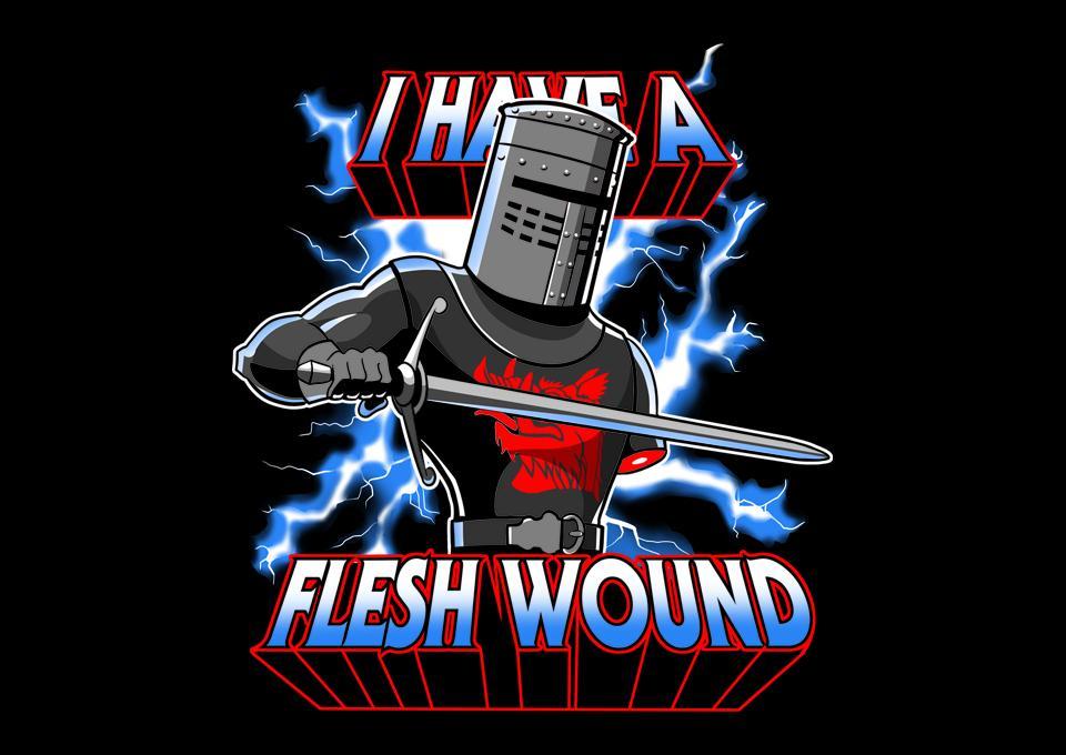 TeeFury: I Have A Flesh Wound